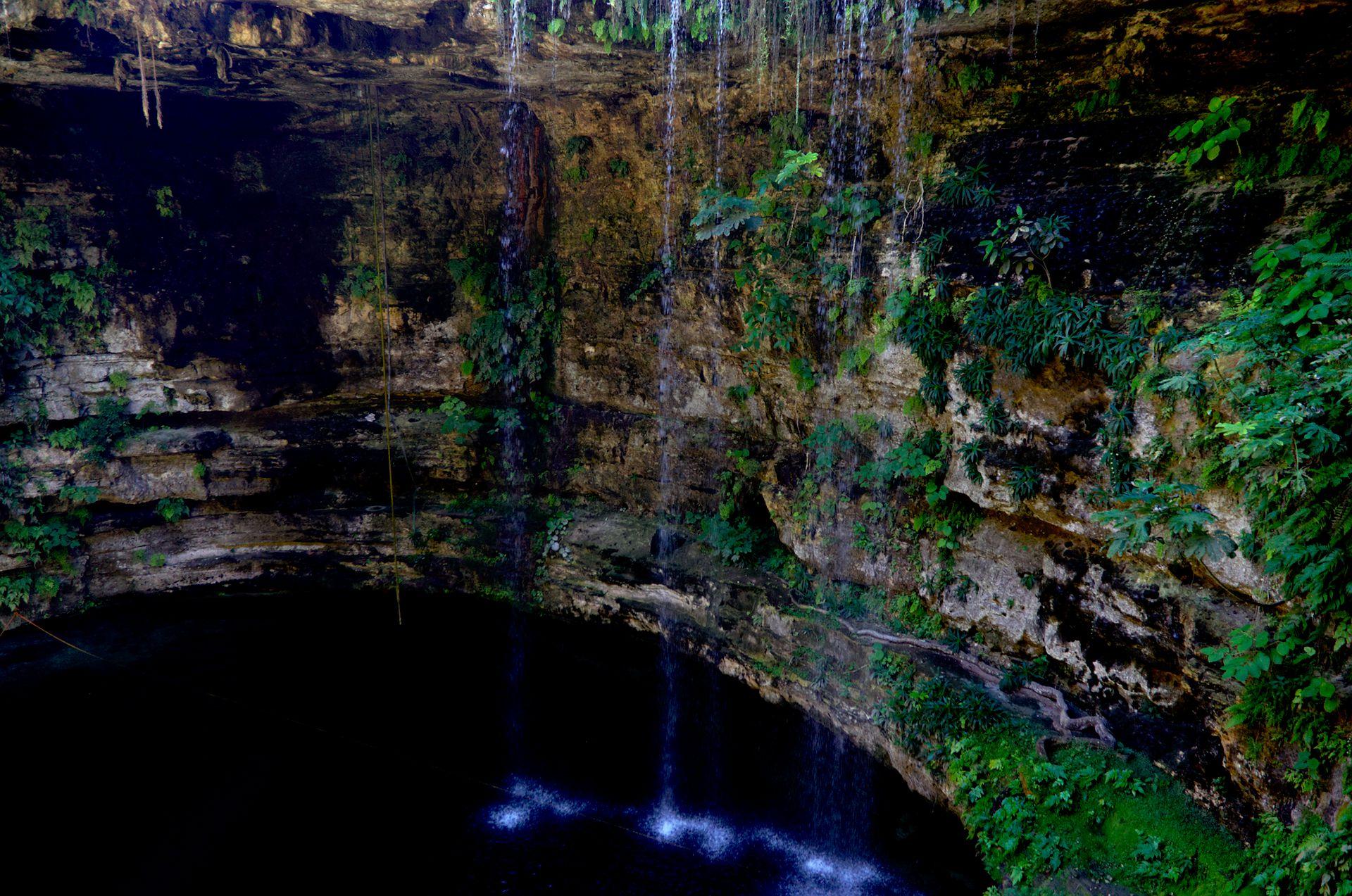 Los cenotes de Valladolid