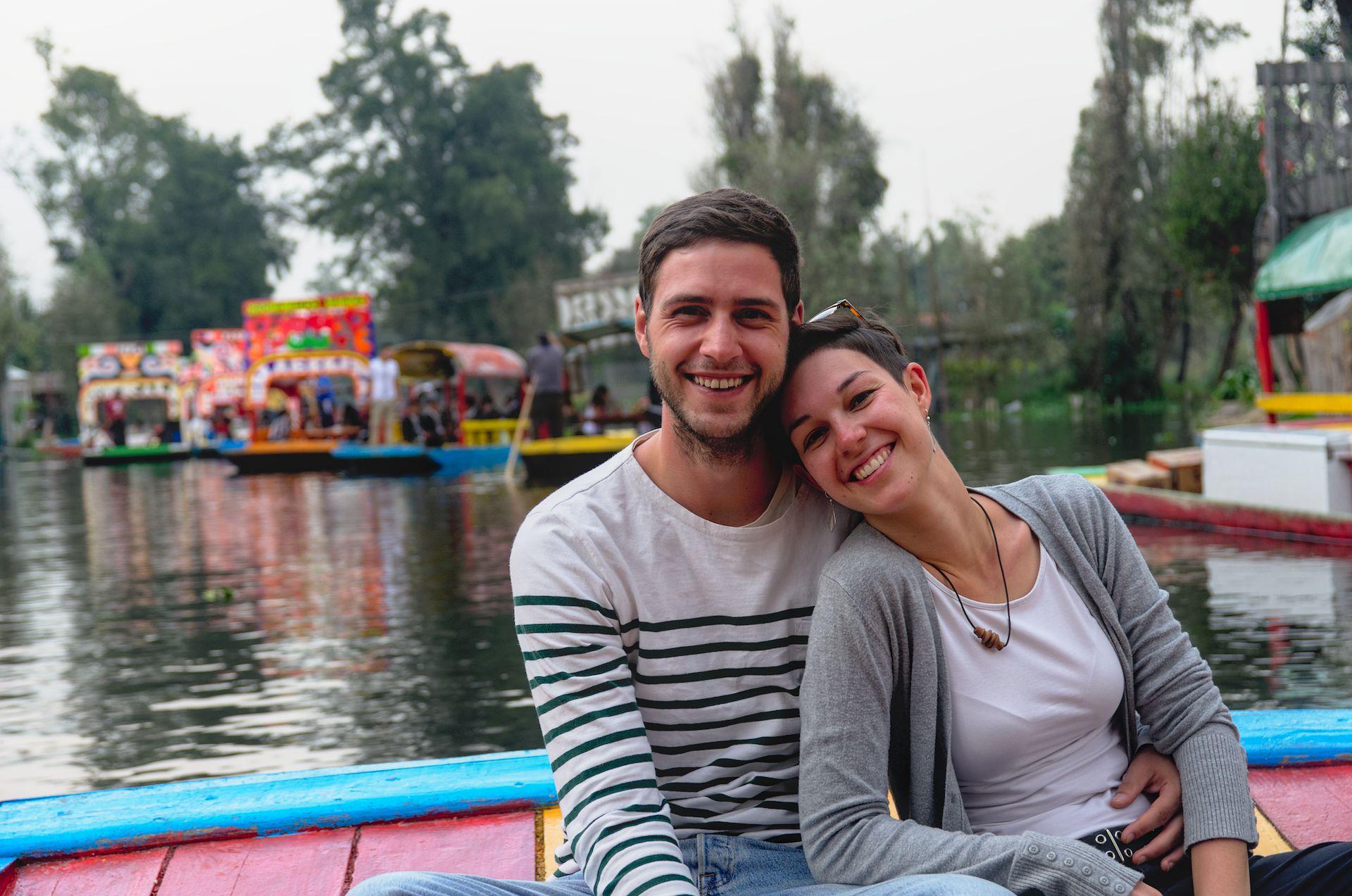 Durch die Gärten von Xochimilco
