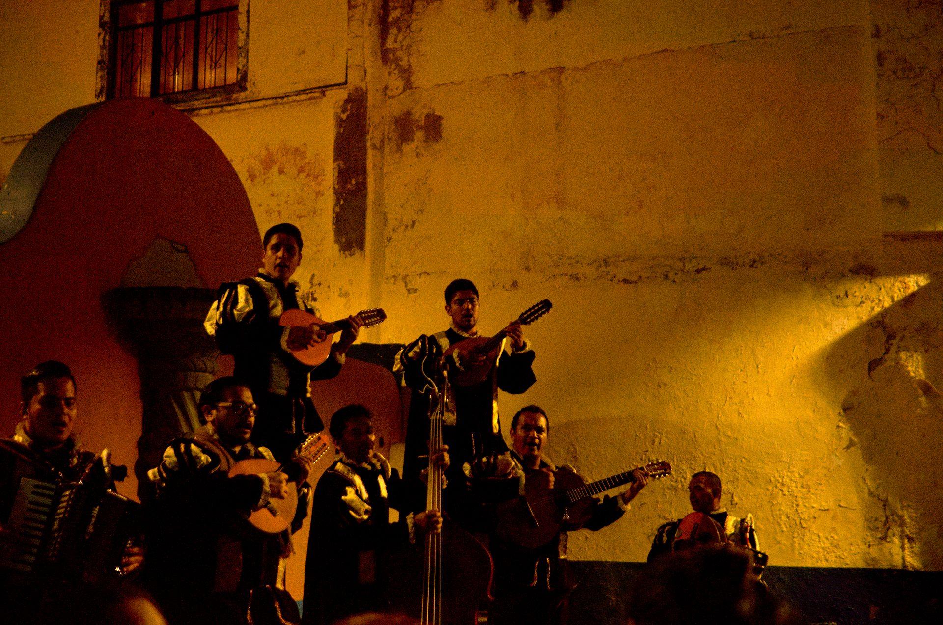 Wunderschöne Farbenpracht in Guanajuato
