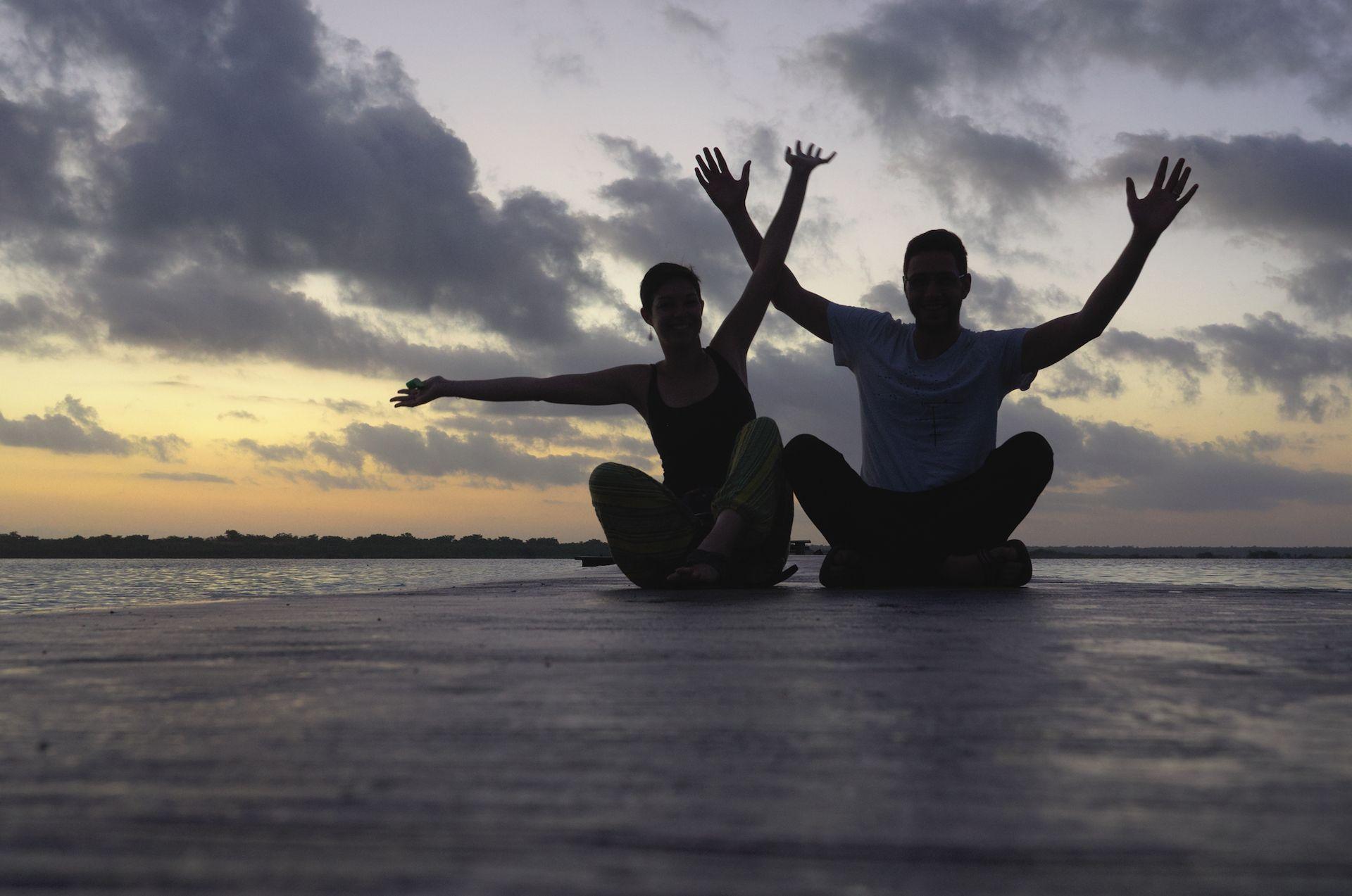 Bacalar – die Lagune der sieben Farben