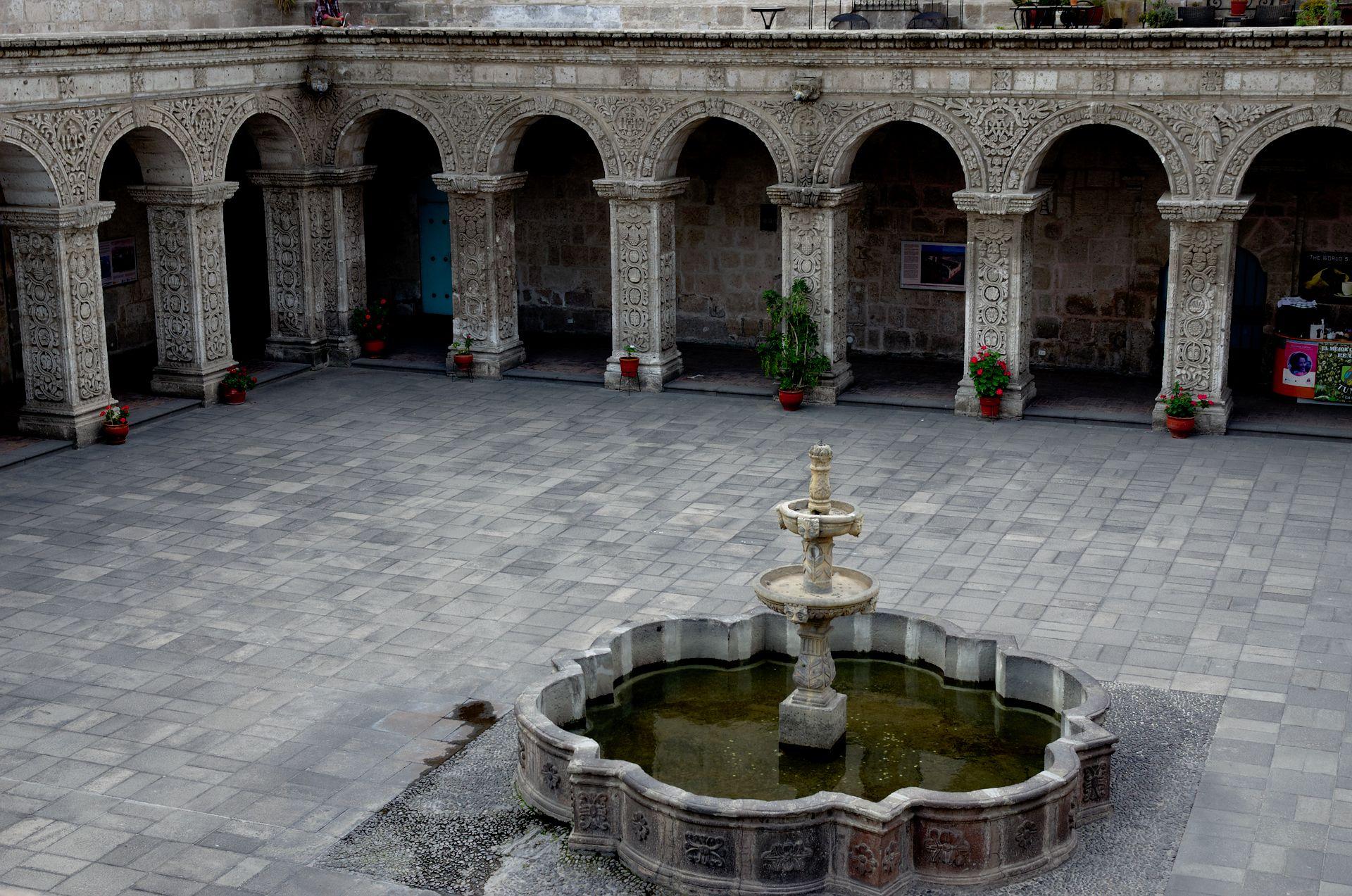 Arequipa: die weiße Stadt