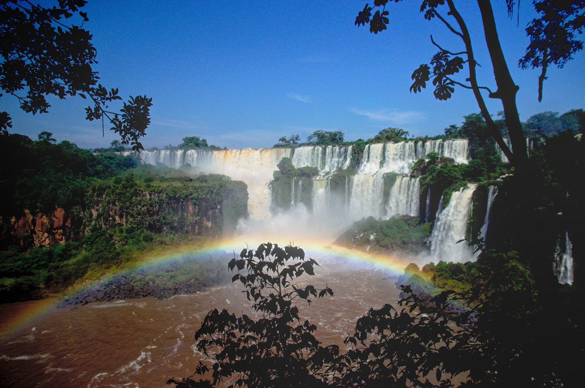 Ein Weltwunder in Iguazú
