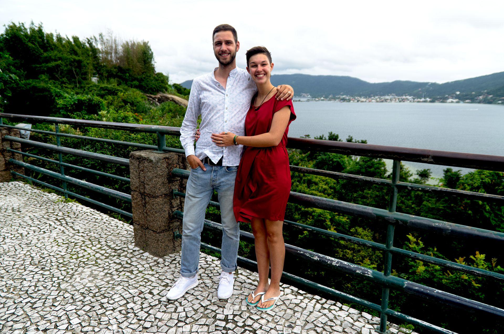 Einsame Strände in Florianópolis