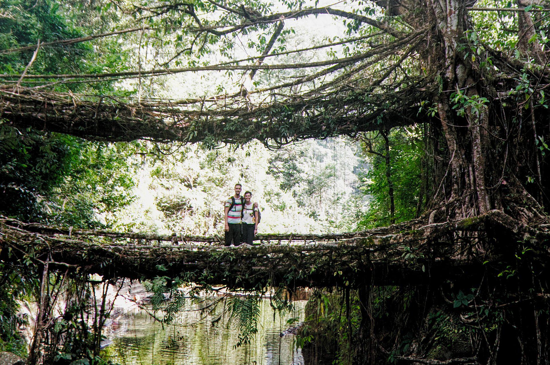 In Meghalaya mitten im Grünen