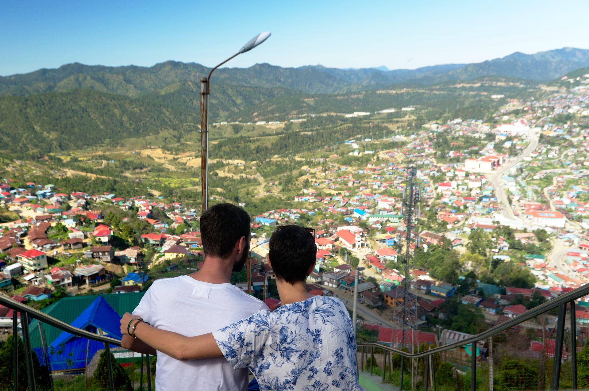 Provinzhauptstadt Hakha