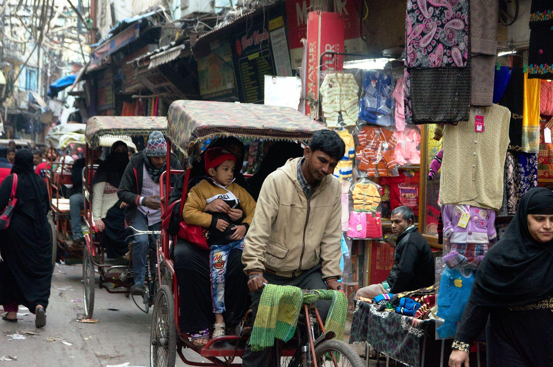 Warum ist New Delhi so riesig?